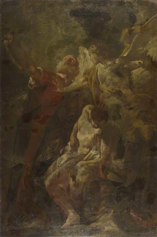 Piazzetta, Giovanni Battista; The Sacrifice of Isaac; The National Gallery, London; http://www.artuk.org/artworks/the-sacrifice-of-isaac-115834